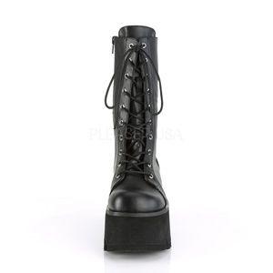 05e45376b5e Demonia Shoes - Ashes Black Womens Platform Boots Size 7